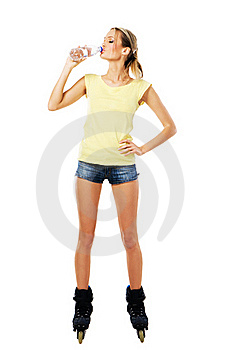 Sporty Girl Royalty Free Stock Images - Image: 21670679