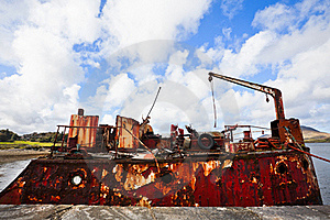 Ship Wreck Royalty Free Stock Image - Image: 21686056