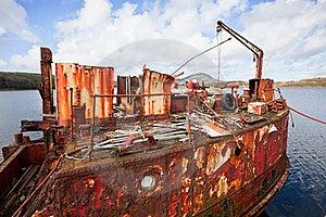 Ship Wreck Stock Image - Image: 21686261