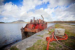Ship Wreck Royalty Free Stock Images - Image: 21686349