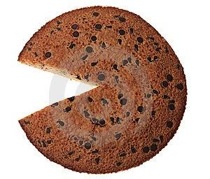Cake With Chocolate Stock Photos - Image: 21694183