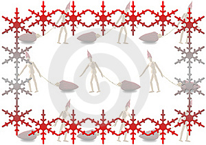 Xmas Frame Royalty Free Stock Photo - Image: 21695025