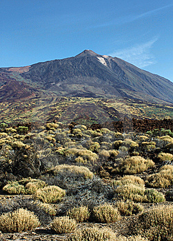 El Teide Summit Desert Stock Photo - Image: 21699900