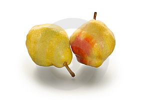Two Pears Stock Images - Image: 2171364