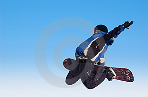 Skyboarder Stock Photography