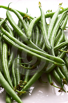 Fine Green Beans Royalty Free Stock Photo