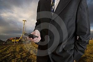 Telephone Calling Royalty Free Stock Image - Image: 2177026