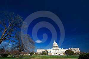 U.S. Capitol On A Sunny Day Stock Photos - Image: 2178053