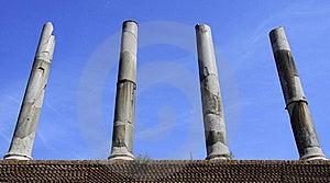 Roman Columns Royalty Free Stock Photos - Image: 21703188