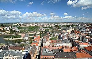 Wroclaw - Panorama Stock Image - Image: 21715531