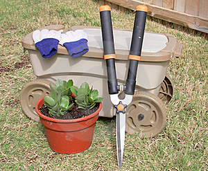 Garden Tools Royalty Free Stock Images - Image: 21718009
