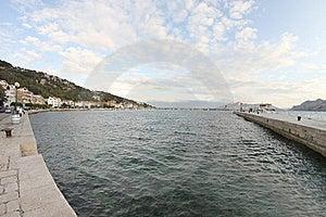 Beautiful Town Of Baska Stock Photo - Image: 21718540