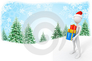 Santa Claus With Presents Stock Image - Image: 21719331