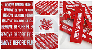 Remove Before Flight Ribbons Stock Image - Image: 21719711