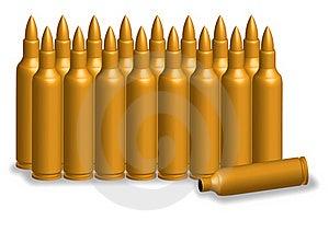 Bullet Golden Stock Photo - Image: 21721130