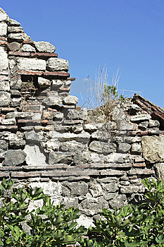 Old Wall, Raw Royalty Free Stock Photos - Image: 21722398
