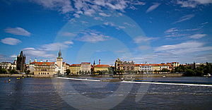 Panoramic View Of Stare Mesto Stock Photo - Image: 21723650