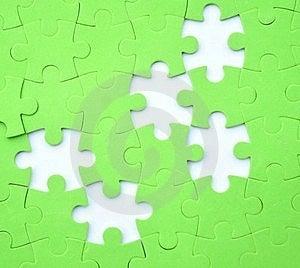 Jigsaw Puzzle Background Royalty Free Stock Images - Image: 21726739