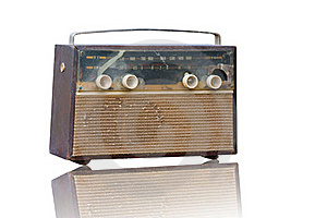 Vintage Fashioned Radio Royalty Free Stock Photography - Image: 21727277