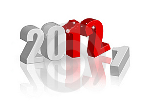 New Year 2012 Stock Images - Image: 21728604
