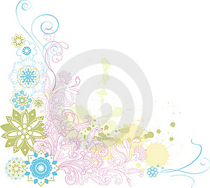 Abstract Floral Background. Stock Photo - Image: 21730610