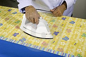 Ironing Fabric Royalty Free Stock Photo - Image: 21733945