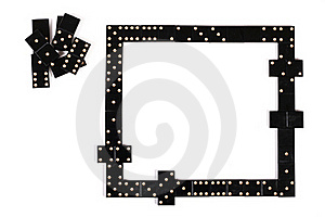 Frame Of Domino Royalty Free Stock Photo - Image: 21741245