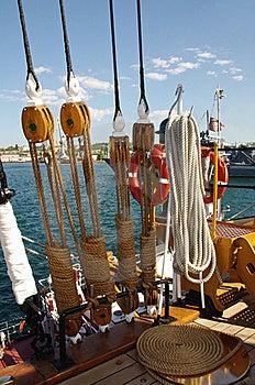 Nautical Ropes Royalty Free Stock Photos - Image: 21741708