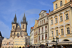 Church Of Our Lady Before Tyn Stock Photography - Image: 21743272