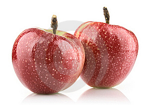 Red Ripe Apple Royalty Free Stock Photo - Image: 21743545