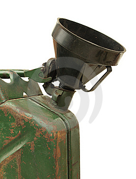 Old Rusty Gasoline Jerry Can Stock Photos - Image: 21747593