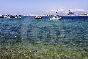 Mykonos, Greece Harbor Stock Image - Image: 21753161