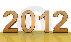 2012 New Year Royalty Free Stock Image - Image: 21760376
