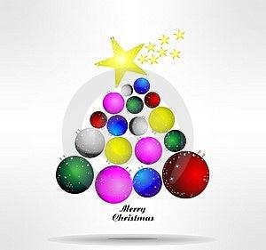 Abstract Christmas Tree Royalty Free Stock Photo - Image: 21760445