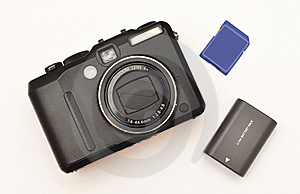 Compact Digital Camera Stock Photos - Image: 21766343