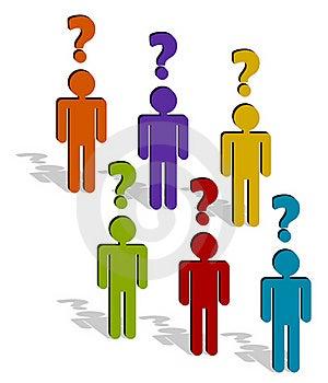 Wondering People Stock Image - Image: 21767031