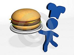 Giant Burger Stock Photos - Image: 21767083