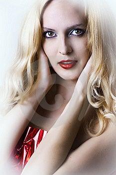 Light Fashion Portrait Of Sexy Blondie Woman Stock Photos - Image: 21770513