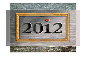 2012 In Frame Royalty Free Stock Photography - Image: 21777157
