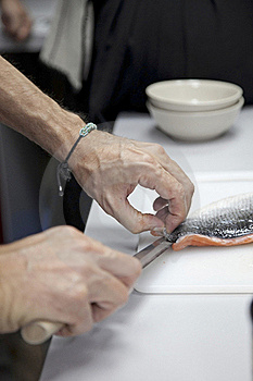 Cut Fish Royalty Free Stock Images - Image: 21781959