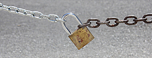 Chain And Padlock Stock Photos - Image: 21787733