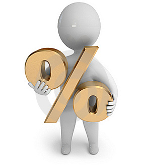 Percent Sign Royalty Free Stock Photo - Image: 21791495