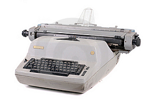 Old Vintage Typewriter Royalty Free Stock Images - Image: 21796389