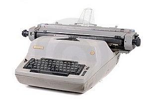 Old Vintage Typewriter Royalty Free Stock Images - Image: 21796389