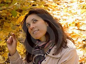 Autumn Happy Stock Image - Image: 21800611