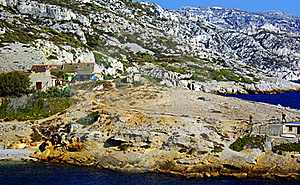 Walk In The Calanques Royalty Free Stock Image - Image: 21801096