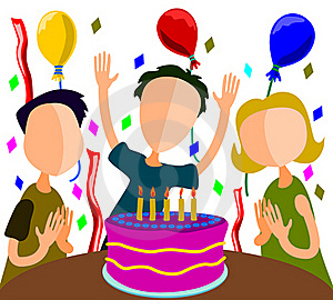 Birthday Party Royalty Free Stock Photography - Image: 21805947