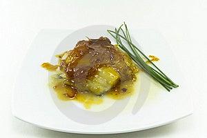 Cod With Honey Stock Image - Image: 21805971