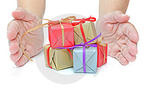 Gift Boxes Stock Image - Image: 21815921