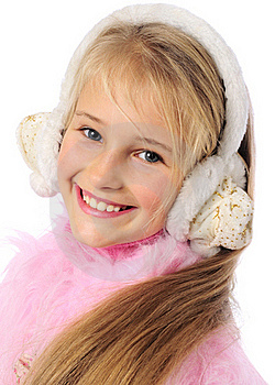 Winter Girl Stock Images - Image: 21816604